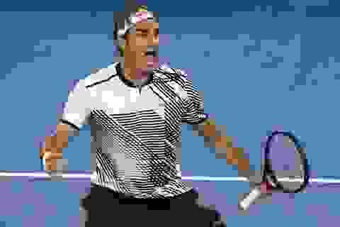 Federer vào tứ kết, ĐKVĐ đơn nữ Kerber bị loại