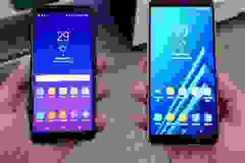 Samsung trình làng bộ đôi Galaxy A8/A8+ với thiết kế màn hình tràn viền
