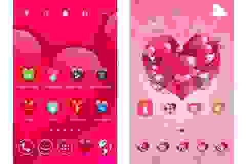 """""""Khoác áo tình yêu"""" cho Android để đón Valentine với bộ sưu tập giao diện miễn phí"""