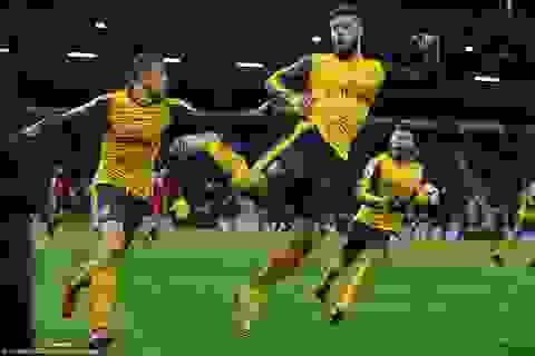 Bị dẫn trước ba bàn, Arsenal vẫn thủ hòa Bournemouth