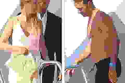 Gwyneth Paltrow vui vẻ đi nghỉ cùng chồng cũ