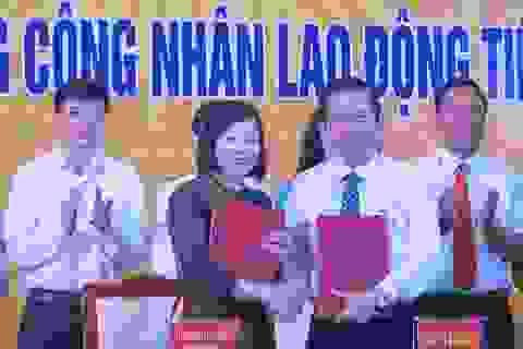 Hàng giá ưu đãi và học học bổng đến với công nhân Bắc Ninh