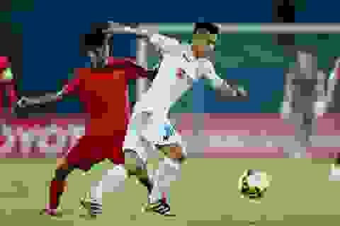 Đương kim vô địch V-League Hà Nội FC bị chia điểm ở Lạch Tray
