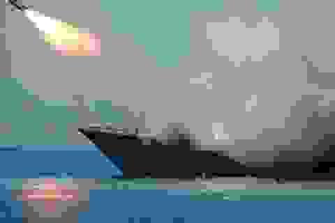 Hải quân Nga phóng tên lửa vào các thành trì của phiến quân ở Lattakia