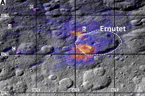 Tìm thấy hợp chất hữu cơ tự nhiên trên hành tinh lùn Ceres