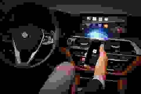 Có thể kết nối Apple CarPlay không dây trên xe BMW 5-Series
