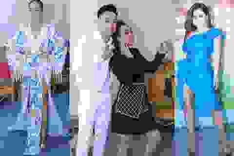 """Đoan Trang, Minh Tuyết sexy hết cỡ, Thu Trang """"hài khó đỡ"""" trong hậu trường"""