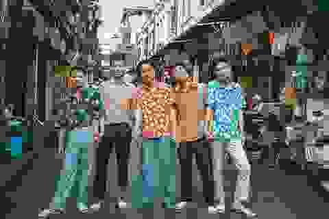 Teen Việt rộ mốt chụp ảnh kỷ yếu phong cách những năm 90