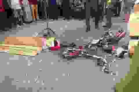 Học sinh lớp 8 tử vong dưới bánh xe tải sau giờ tan trường