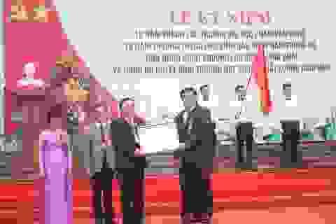 Trường Đại học Phạm Văn Đồng đón nhận Huân chương Lao động hạng Nhất