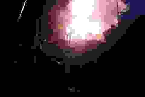 4 tàu cá bốc cháy dữ dội trong đêm