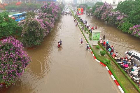 Hà Nội sẽ đào thêm 25 hồ mới để chống ngập