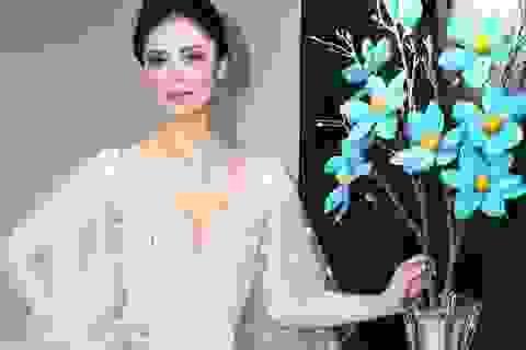 Hoa hậu Hoàn vũ Riyo Mori bất ngờ trước tài năng của NTK Hoàng Hải