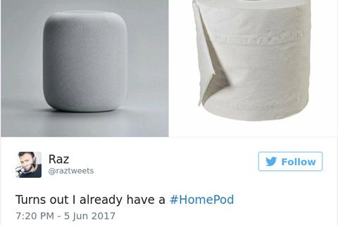 Loạt ảnh chế hài hước về loa thông minh HomePod mới trình làng của Apple