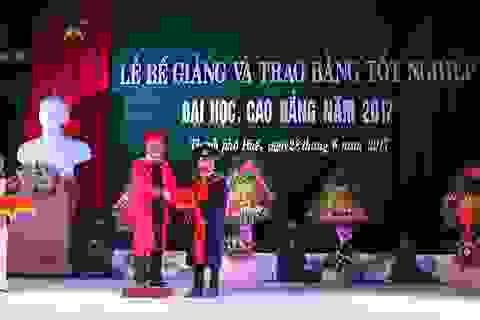 Hơn 90% tân cử nhân trường Đại học Nông lâm Huế đã có việc làm sau tốt nghiệp