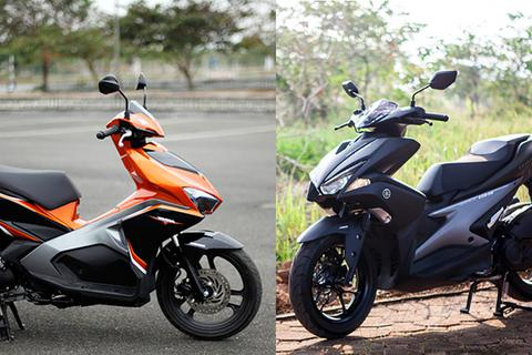 Xe ga thể thao 125cc: Yamaha NVX hay Honda AirBlade?