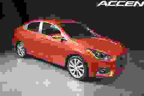 Hyundai Accent thế hệ mới trình làng