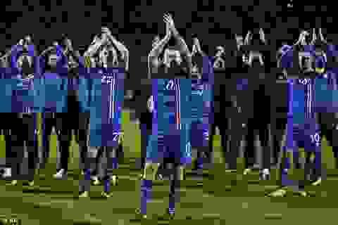 Giành vé dự World Cup 2018, Iceland viết tiếp câu chuyện cổ tích