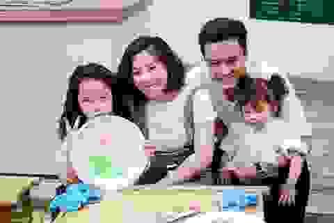 """Gia đình Hồng Đăng, Thúy Hạnh hào hứng vui chơi tại """"Ngôi nhà thiên nhiên"""""""