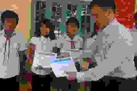 106 suất học bổng Grobest Việt Nam đến với học sinh tỉnh Bình Phước