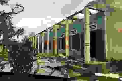 Quảng Bình: Học sinh mầm non nơi tâm bão quét qua vẫn chưa thể đến lớp