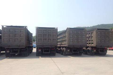 Phạt hơn 300 triệu đồng đối với 6 xe chở than quá tải, cơi nới thùng