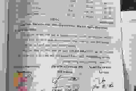 Thu tiền trái quy định, hiệu trưởng bị xử phạt 10 triệu đồng