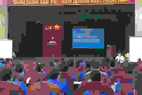 126 cán bộ Đoàn, Hội cấp cơ sở tham gia Trại huấn luyện năm 2017