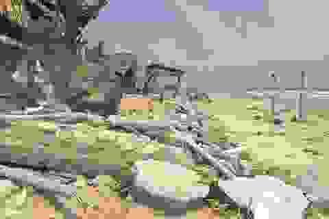 Xâm thực nghiêm trọng đe dọa xóa sổ làng biển
