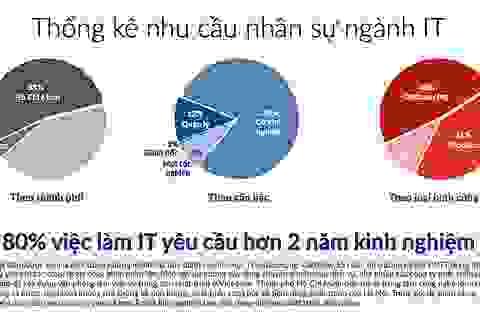Nhân sự IT tuyển nhiều: Lập trình viên dễ có lương từ 1.300-2.000 USD