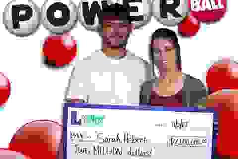 Bà mẹ trẻ 3 con trúng 45 tỷ đồng ngay trước ngày sinh nhật