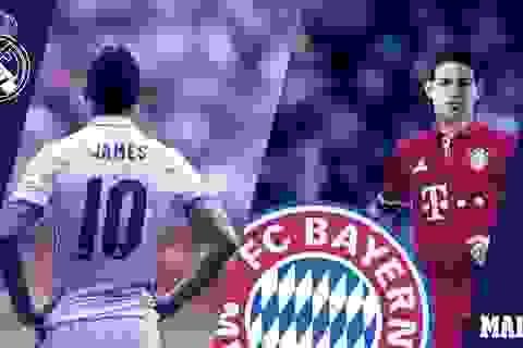 Bayern Munich chính thức sở hữu James Rodriguez