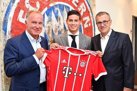 James Rodriguez rạng rỡ ra mắt Bayern Munich