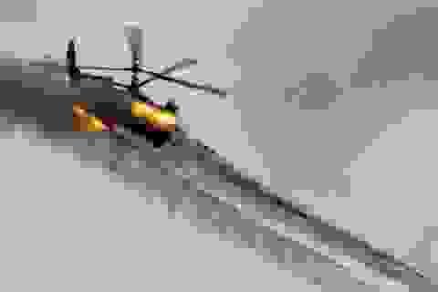 Ka-52 Nga phóng tên lửa hỏa thiêu dàn tăng IS