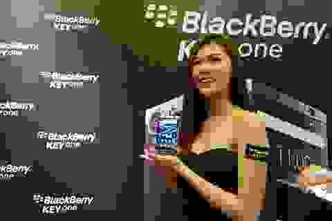 Blackberry KeyOne chính thức lên kệ, giá 14,9 triệu đồng