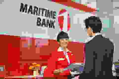 Maritime Bank: Lợi nhuận trước dự phòng bằng 2,8 lần năm 2015