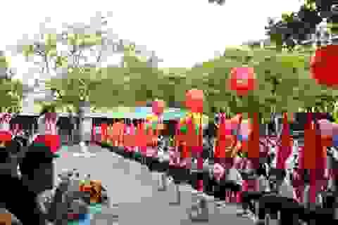 Nghệ An: Hát quốc ca, không được mở đĩa thu sẵn trong lễ khai giảng