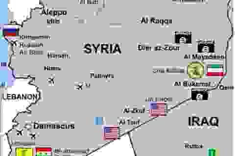 Liên minh Syria và Mỹ quyết chiến tranh giành Deir Ezzor
