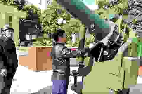 Nguy cơ di tích thành phế tích: Sẽ làm rõ khẩu pháo đồng có thật sự bằng đồng?