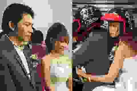 Khởi My - Kelvin Khánh bí mật tổ chức đám cưới; rước dâu bằng xe mô tô