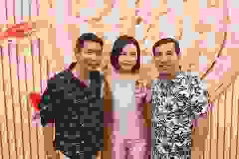 """Người phụ nữ """"bí mật"""" bên cạnh Quang Thắng - Công Lý"""