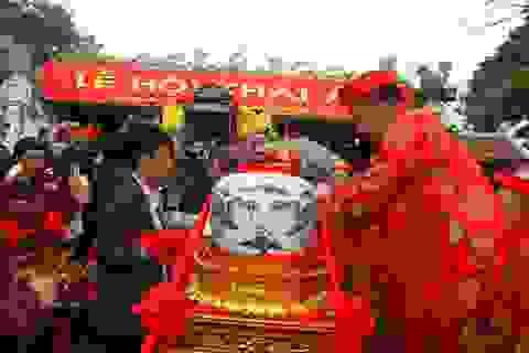 """Nam Định: Thực hiện nghi lễ """"Rước nước, tế cá"""""""