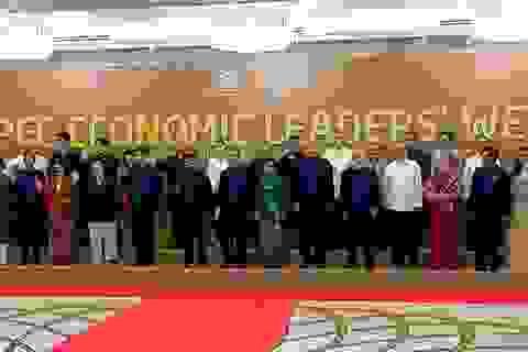 """Chủ tịch nước Trần Đại Quang dẫn câu ca dao """"Anh em bốn biển một nhà"""" tại tiệc chiêu đãi lãnh đạo APEC"""