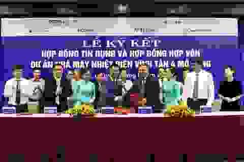 Ngân hàng tài trợ 5.400 tỷ đồng cho Dự án Nhà máy nhiệt điện Vĩnh Tân 4 mở rộng