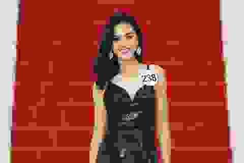 """Lê Thu Trang bật mí """"đối thủ"""" đáng gờm trước đêm chung kết Hoa hậu Hoàn vũ"""