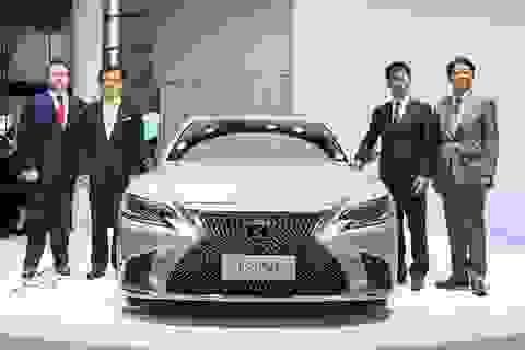 """Lexus trình làng mẫu xe cỡ lớn hạng sang giá """"rẻ"""" LS 350"""