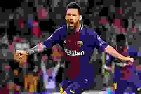 Top 10 chân sút xuất sắc nhất năm 2017: Messi chỉ xếp thứ 2