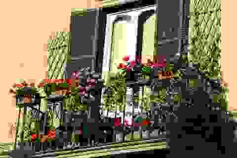 Lô gia – điểm nhấn trong phong cách thiết kế chung cư hiện đại