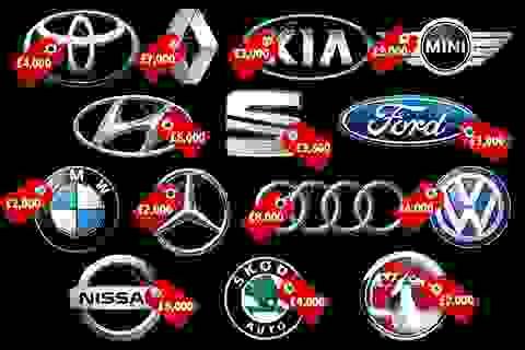 Anh: Nhiều hãng ô tô đồng loạt hỗ trợ khách hàng đổi xe mới