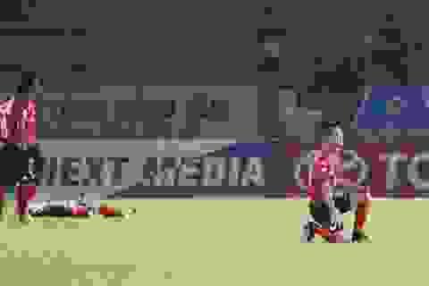 Minh Phương thua trận thứ 6 liên tiếp kể từ khi dẫn dắt đội Long An